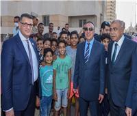 محافظ الإسكندرية وأعضاء لجنة حقوق الإنسان يتفقدون «بشاير الخير»
