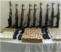 ضبط مخدرات وسلاح بحوزة70 شخصا في الجيزة