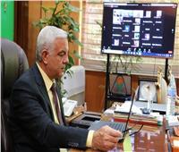 رئيس جامعة المنوفية يشهد ندوة اتحاد الجامعات العربية للتعليم الرقمي