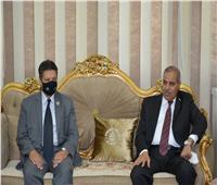 المحرصاوي: عقد دورات وندوات تثقيفية لتنمية قدرات شباب جامعة دمياط