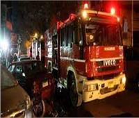 الحماية المدنية تسيطر على حريق أسفل الكوبري الإقليمي ببنها