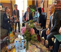 النائب العام يلتقي نظيره في باريس لبحث التعاون القضائي