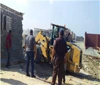 تنفيذ 9 قرارات إزالة لمباني مخالفة في بورسعيد