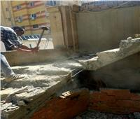 «الجيزة» تواصل حملاتها المكثفة لمنع البناء المخالف