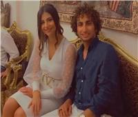 خطوبة عمرو وردة في حفل عائلي
