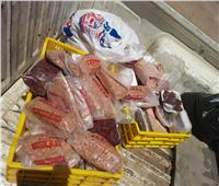 ضبط 110 كجم لحوم وأسماك غير صالحة للاستهلاك في بني سويف