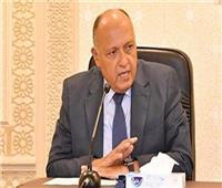 شكري: بعض الرصد أظهر أن إثيوبيا لم تنفذ إنشاءات تتيح لها الملء الكامل