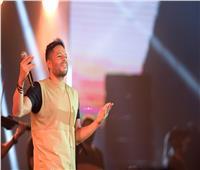 محمد حماقي يتألق بحفله الغنائي في الدوم أكبر قبة في العالم بجدة