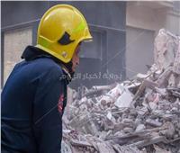 انتشال جثة رابعة من ضحايا عقار العطارين المنهار بالإسكندرية