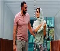 بعد ظهورها مع زوجها.. نجمات الفن لحلا شيحة: «ربنا يسعدك»
