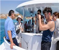 السياحة تستضيف وفد اعلامي أوكرانى لمتابعة الإجراءات الاحترازية المصرية | صور