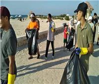 انطلاق مبادرة«البحر الأبيض المتوسط من أجل شواطيء نظيفة» بالعريش   صور