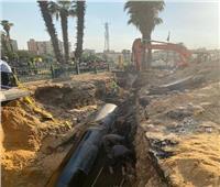 «مياه القاهرة» تنجح في منع التسرب أسفل مترو السيدة زينب