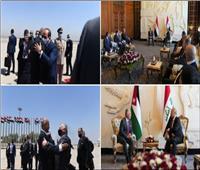 بعد لقائه السيسي وملك الأردن.. رئيس العراق: علاقاتنا الراسخة منطلق لمستقبل واعد لشعوبنا