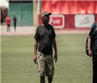 موسيماني يجتمع مع لاعبي الأهلي قبل المران