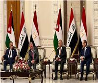 مصر والأردن والعراق.. شراكة اقتصادية تدعهما قوة العلاقات السياسية