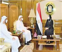 نيفين جامع: الإمارات أكبر شريك تجاري لمصر في الشرق الأوسط