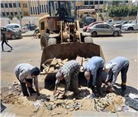 محافظ الدقهلية يتابع أعمال رفع القمامة ونظافة الشوارع بمدينة المنصورة