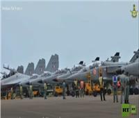 مقاتلات أمريكية وهندية تقلع من على متن حاملة الطائرات «رونالد ريجان»| فيديو