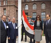 أعلى برج في كندا يتزين بعلم مصر الجمعة المقبل