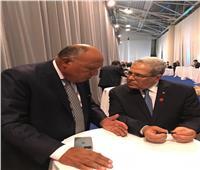 وزير الخارجية ونظيره التونسي يبحثان تنسيقالمواقف الإقليمية والدولية المشتركة