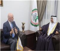 رئيس البرلمان العربي يستقبل سفير إسبانيا بالقاهرة