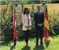 السفير الألماني ووزيرة الهجرة يزوران المركز المصري الألماني للوظائف وإعادة الاندماج