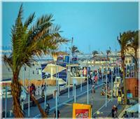 محافظ الدقهلية يكلف برفع كفاءة الشوارع والميادين وشاطئ مدينة جمصة| صور
