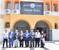 جامعة العريش تستقبل لجنة قطاع علوم الحاسبات والمعلومات بالمجلس الأعلى