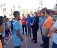 «إدارة الموهبة الرياضية بوزارة الشباب» يقوم بزيارة مشروع البطل الأولمبي بـ«الدقهلية»