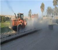 حملة مكثفة لرفع الإشغالات ونظافة الشوارع جنوب المنيا