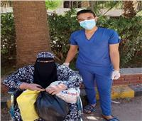 خروج 9 حالات بعد تعافيهم من فيروس كورونا بمستشفى الحجر الصحي بكفر الدوار
