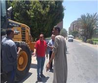 ٨ حملات نظافة بقرى المنيا ورفع ٢١٢ طنمخلفات