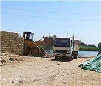 رفع 100 طن مخلفات وقمامة في حملة بالمنيا