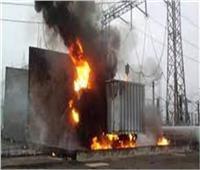الكهرباء: السيطرة على حريق محول الكهرباء بالهرم