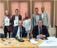 مناقشة مشاريع تخرج كلية السياحة والفنادق بجامعة حلوان