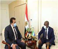 وزير التعليم العالي يستقبل سفير دولة سيراليون بالقاهرة لبحث سبل التعاون