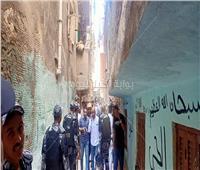 انهيار عقار غرب الإسكندرية وأنباء عن وقوع ضحايا
