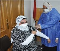 دعمًا لجهود الدولة.. جامعة حلوان تستمر في حملة التطعيم ضد كورونا لمنتسبيها