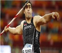 إيهاب عبد الرحمن فى ألعاب القوى بأولمبياد طوكيو رسميا