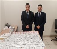 إحباط محاولة تهريب كمية كبيرة من الأدوية في مطار القاهرة | صور