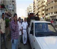 خلال 24 ساعة تحرير1765 محضر إشغال طريق بالجيزة