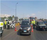 «أكمنة المرور» تحرر3787 مخالفة والرادار يرصد 2189 سيارة متجاوزة للسرعة