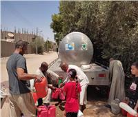 أهالي قرية «بركة» بنجع حمادي يشكون من الانقطاع المستمر للمياه   صور