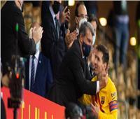 بعد عرض باريس سان جيرمان.. رئيس برشلونة يتحدث عن تجديد عقد ميسى