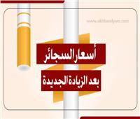 إنفوجراف| أسعار السجائر بعد الزيادة الجديدة