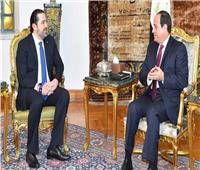 سعد الحريري يصل القاهرة للقاء الرئيس السيسي