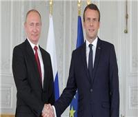 بوتين يناقش مع ماكرون عدد من القضايا الدولية من بينها ليبيا وأوكرانيا