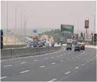 سيولة مرورية وانتظام حركة السيارات على الطرق الرئيسية بالقليوبية