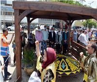 مسيرة نيلية وعروض فنية احتفالا بـ30 يونيو بالقليوبية| صور